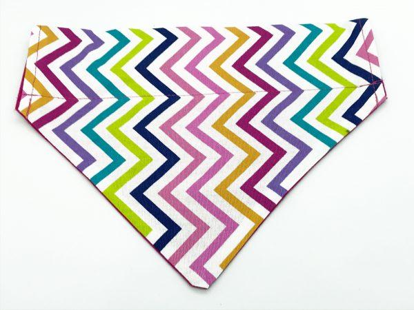Multicoloured Print dog bandana