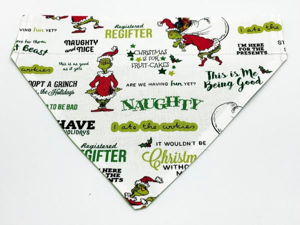 How the Grinch Stole Christmas Dog Bandana