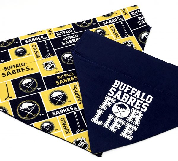 Buffalo Sabres Dog Bandana