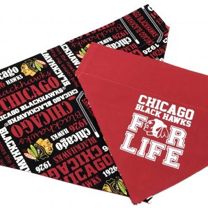 Chicago Blackhawks Dog Bandana