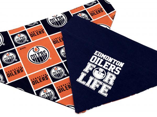 Edmonton Oilers Dog Bandana