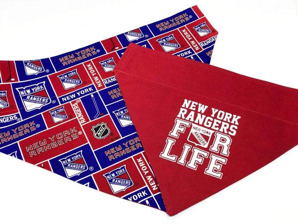New York Rangers Dog Bandana