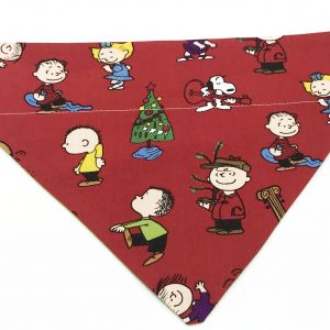 Charlie Brown Christmas dog bandana