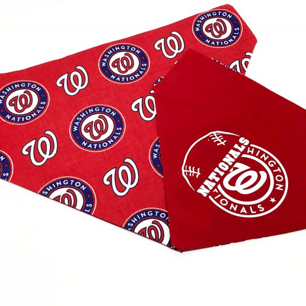 Washington Nationals Dog Bandana