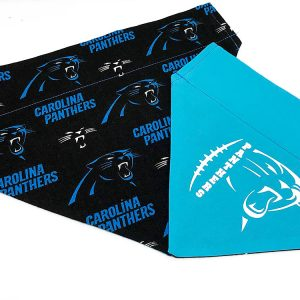 Carolina Panthers dog bandana
