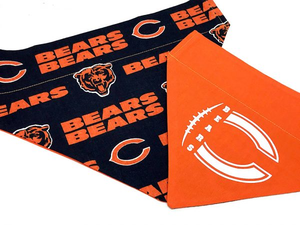 Chicago Bears Dog bandana