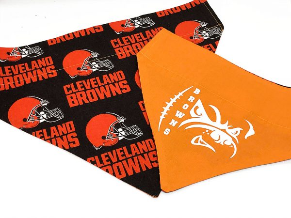 Cleveland Browns Dog Bandana