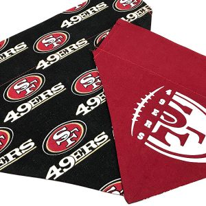 San Francisco 49ers Dog Bandana
