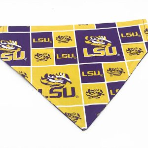Louisiana State Tigers Dog Bandana