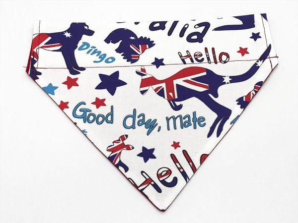 Aussie Love dog bandana