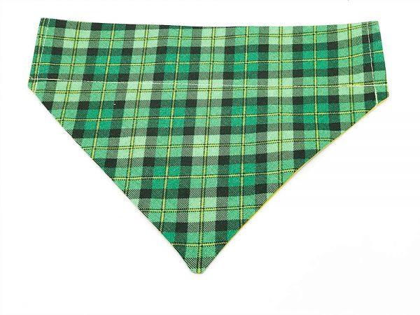 Irish Plaid dog bandana