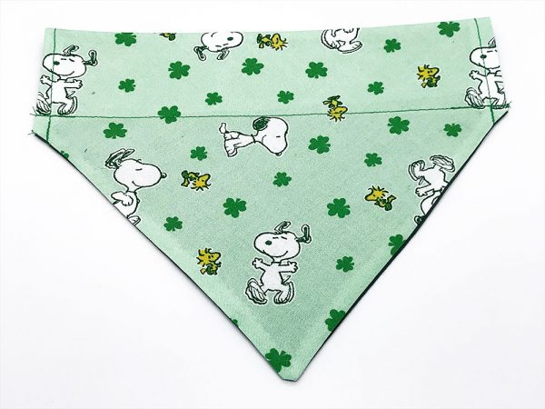 Snoopy and Woodstock St. Patrick's Day Dog Bandana