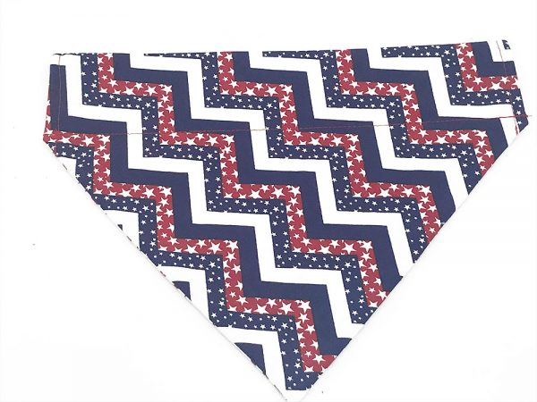 Stars and Stripes Independence Day Dog Bandana