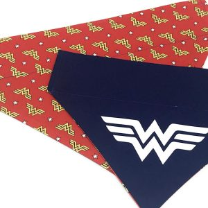 Wonder Woman Dog Bandana